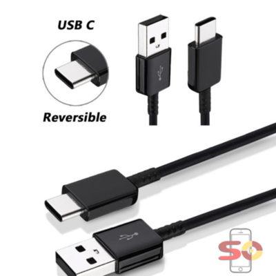 Cabo USB Tipo C Macho Para USB 3.0 Macho 1,0M