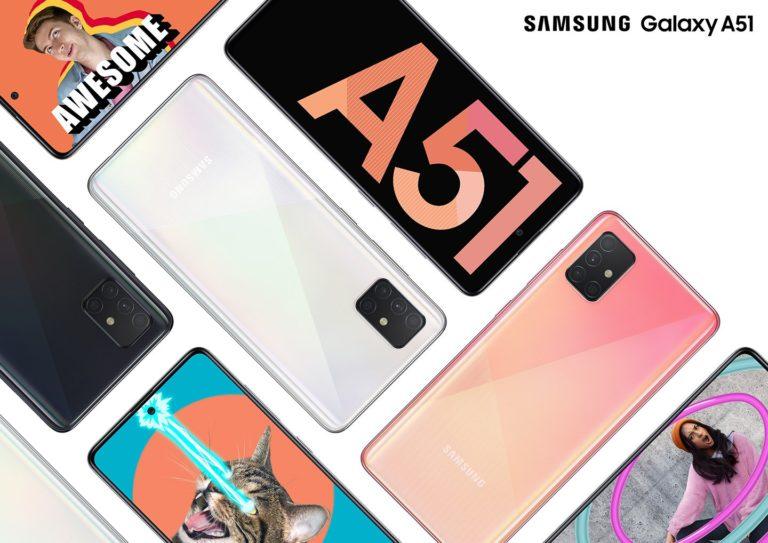 Samsung apresenta novo Galaxy A51